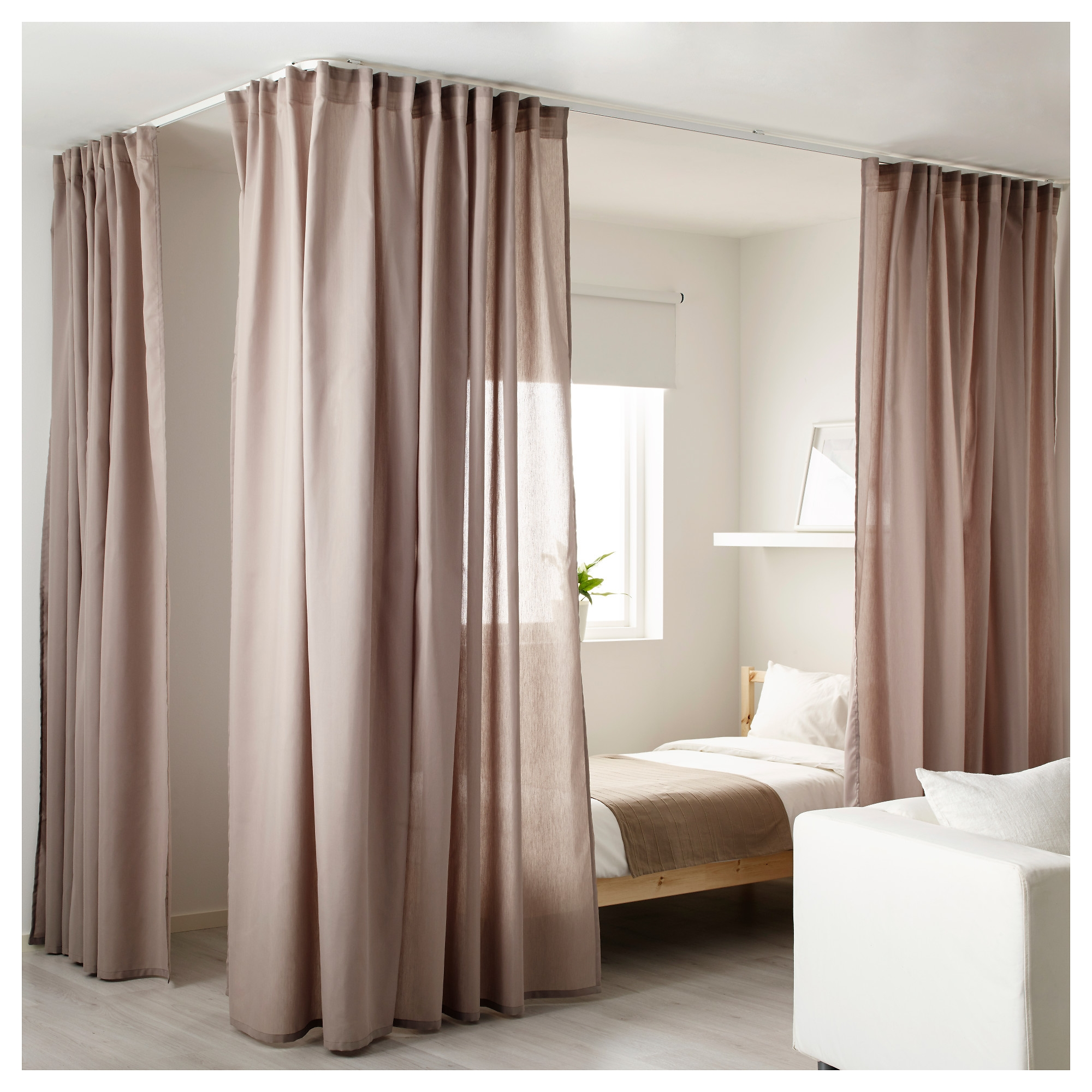 Featured Image of Room Curtain Divider IKEA