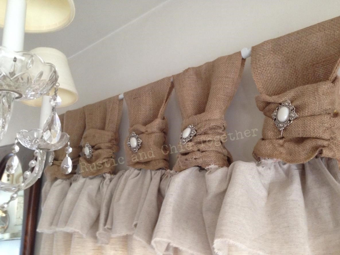 Curtains Amazoncom Free Delivery Possible Eligible Purchases With Regard To Burlap Curtains (Image 11 of 25)