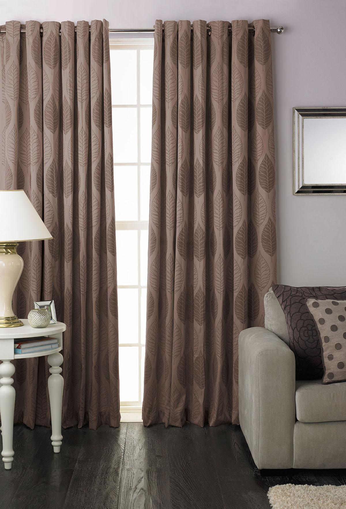 Curtains Beige Eyelet Curtains Riveting Beige Lined Eyelet In Brown Eyelet Curtains (Image 6 of 25)