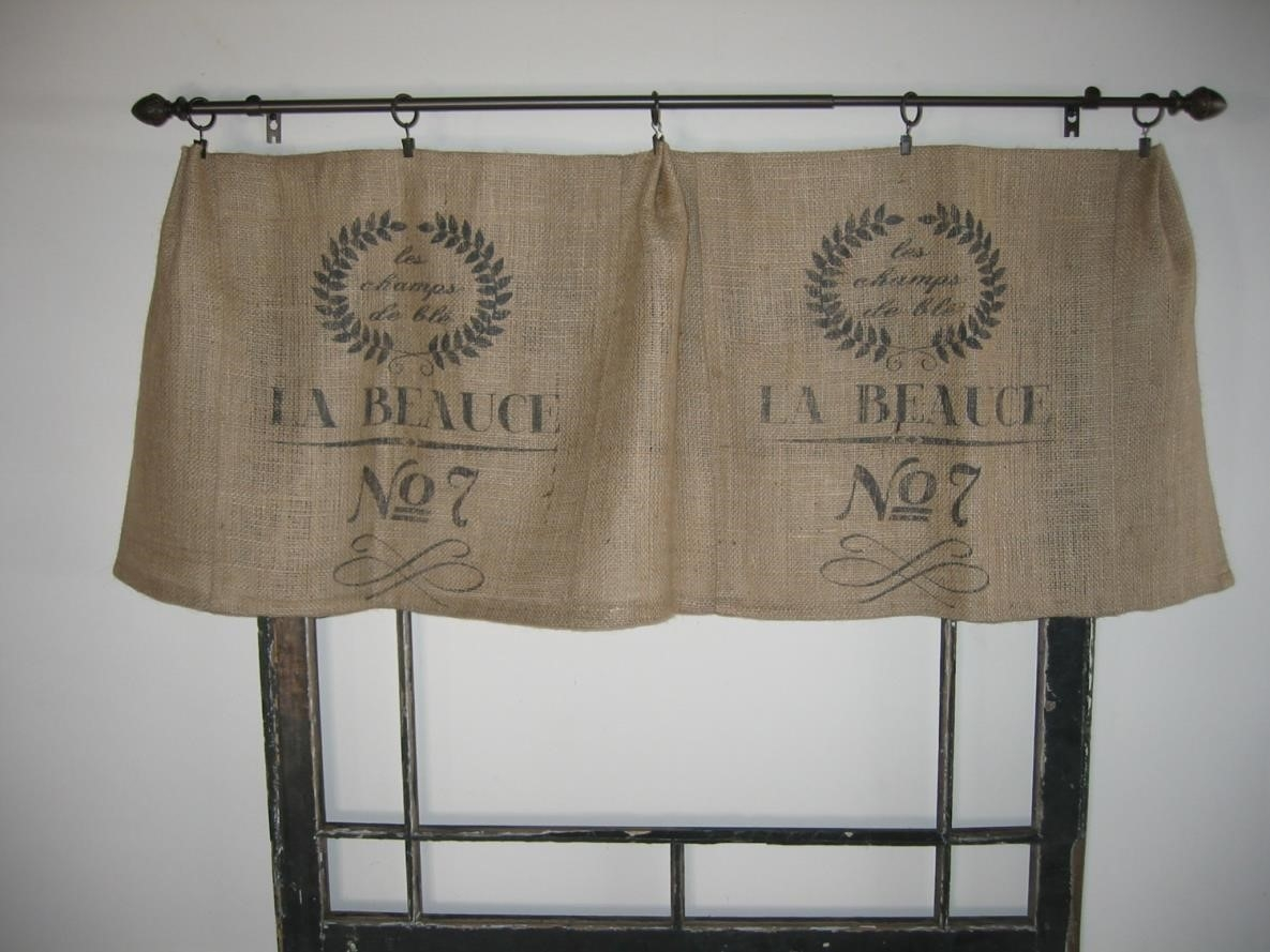 Curtains Best Burlap Curtains Ideas About Drapes On Pinterest In Burlap Curtains (Image 12 of 25)
