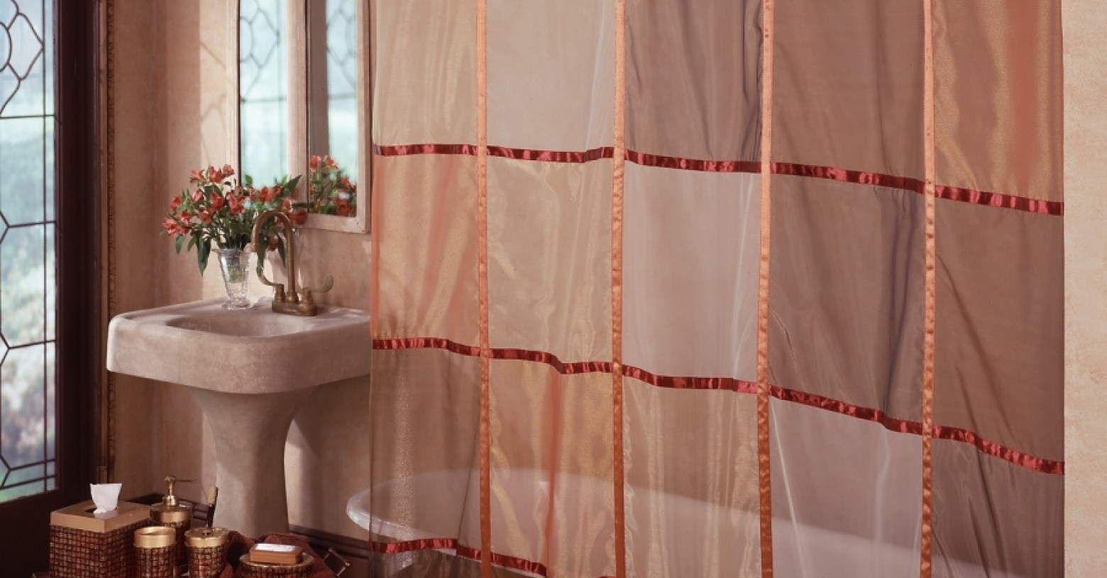 Curtains Category White With Grey Curtains Sheer Brown Curtains Pertaining To Short Brown Curtains (Image 4 of 25)