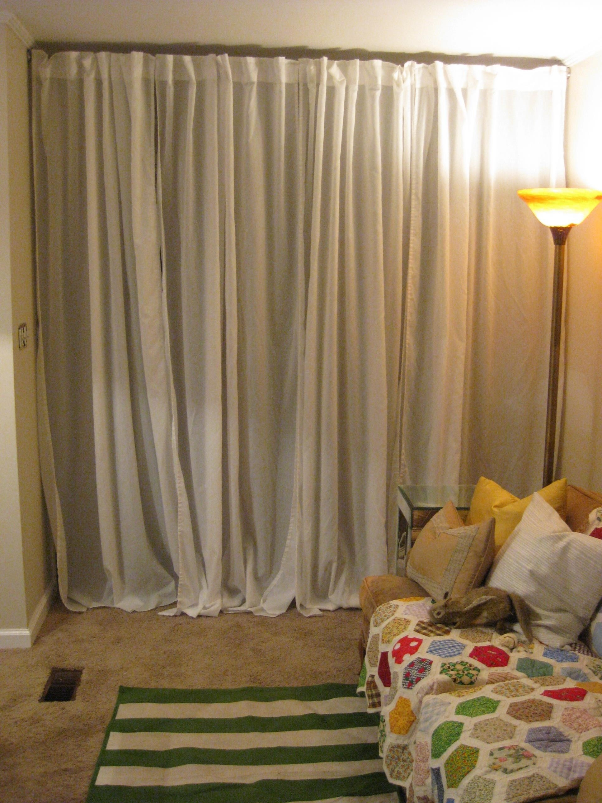 Curtains Creative Curtains And Easy Curtain Ideas To Dress Up Inside Inexpensive Curtains For Large Windows (Image 9 of 25)