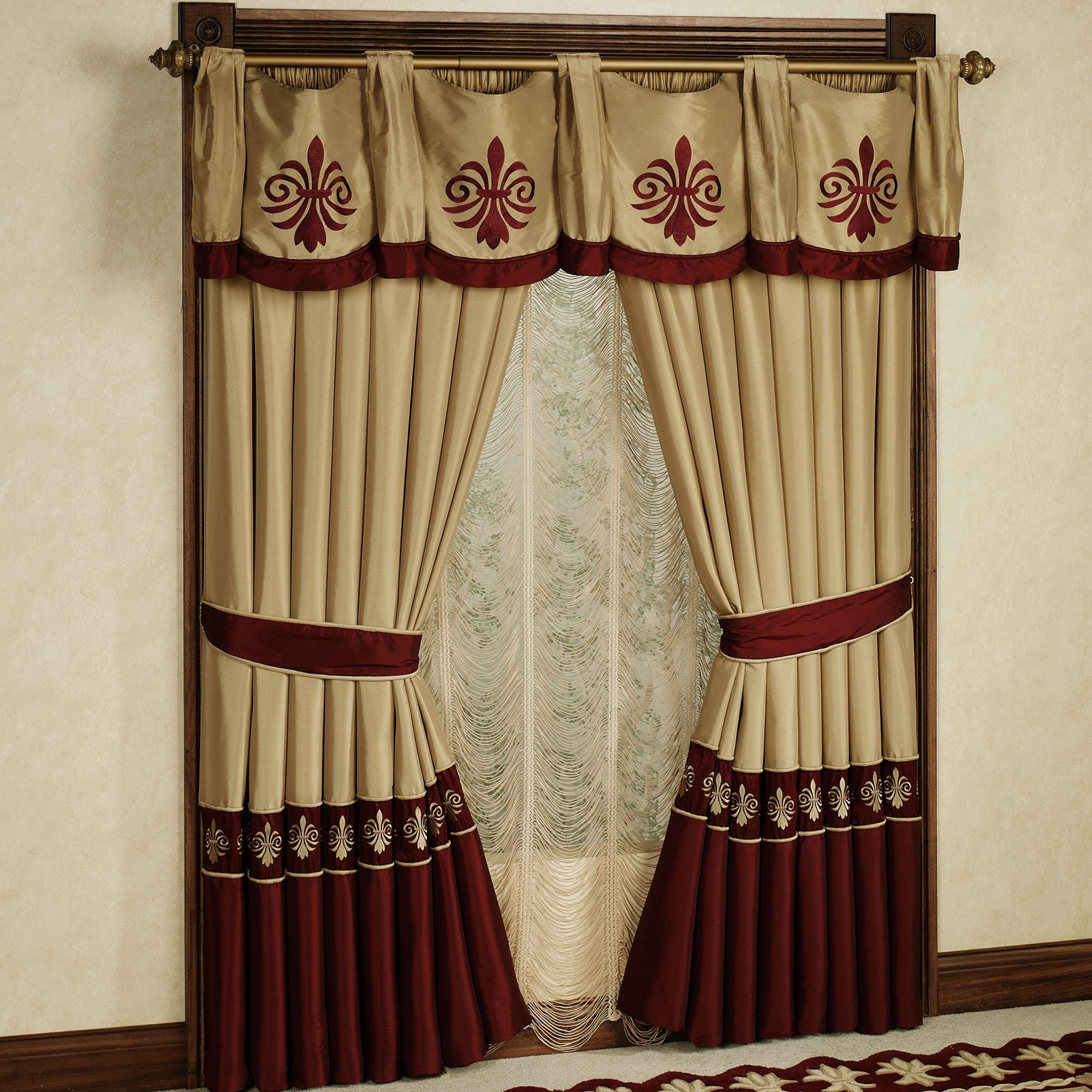 Curtains Curtains For Double Windows Designs Windows Designs With Regard To Curtains Windows (Image 9 of 25)