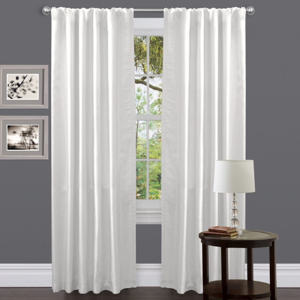 Curtains Dark Gray Curtains Decor Window Treatments Sheer Grey Within Dark Grey Sheer Curtains (Image 9 of 25)