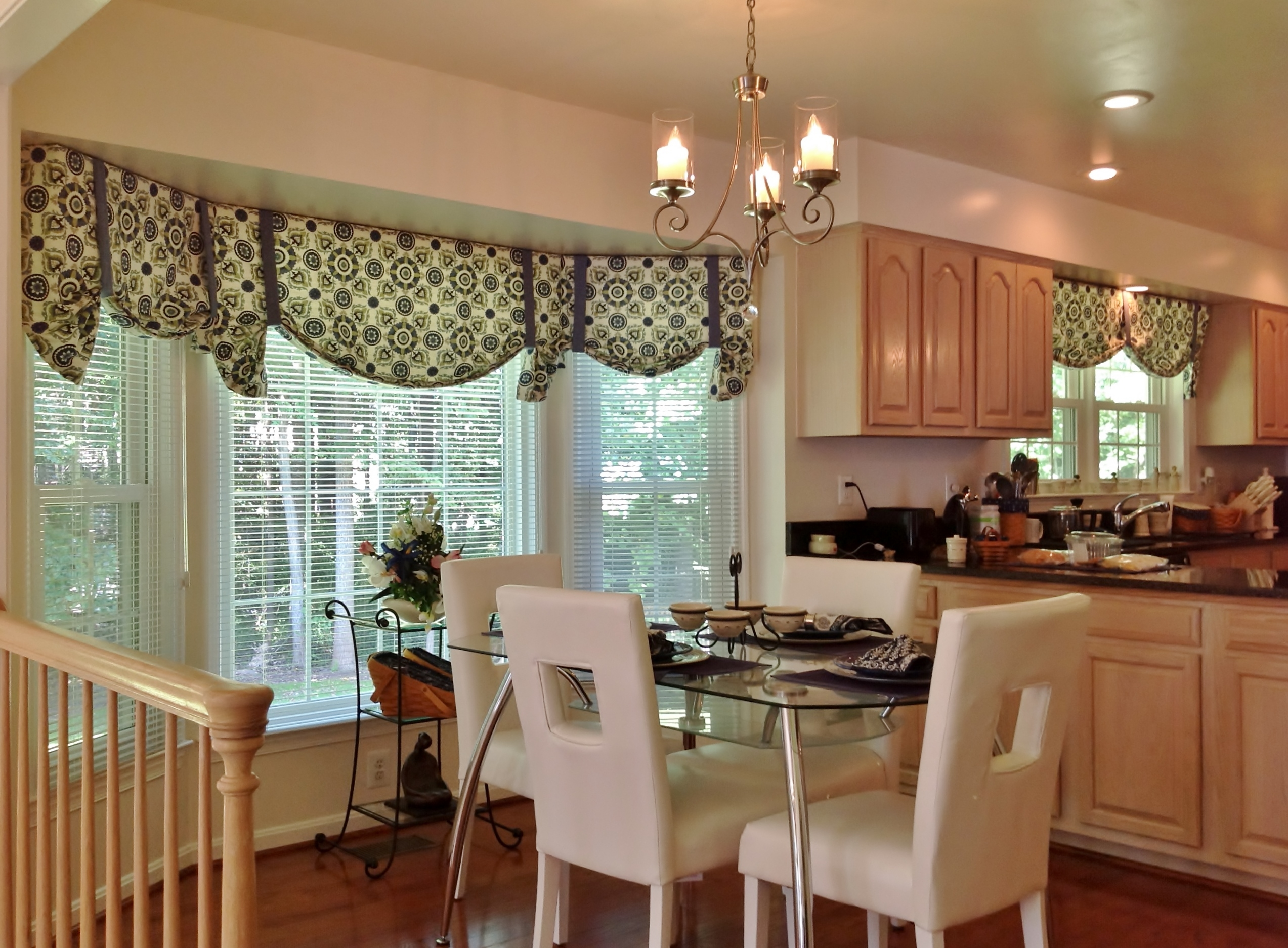 Curtains Dining Room Valance Curtains Decor Best 25 Valance Ideas Within Valance Curtain Ideas (Image 11 of 25)