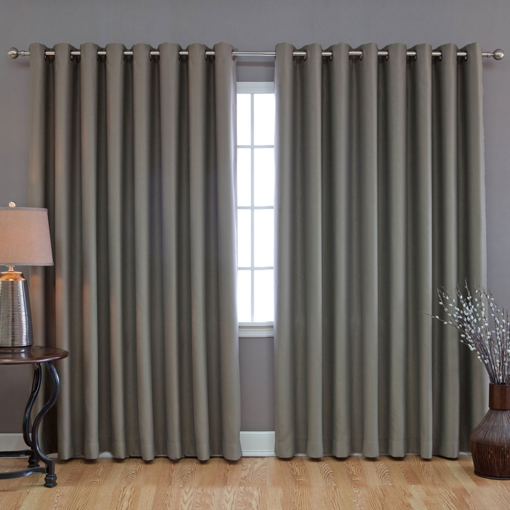 Curtains For Sliding Glass Door Ideas Trending Sliding Door Intended For Sliding Glass Door Curtains (View 7 of 25)