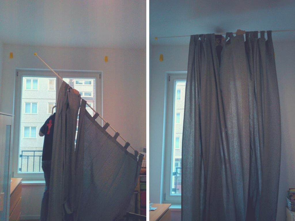 Curtains Hanging Curtains On Poles Designs 25 Best Ideas About Pertaining To Hanging Curtains (View 20 of 25)