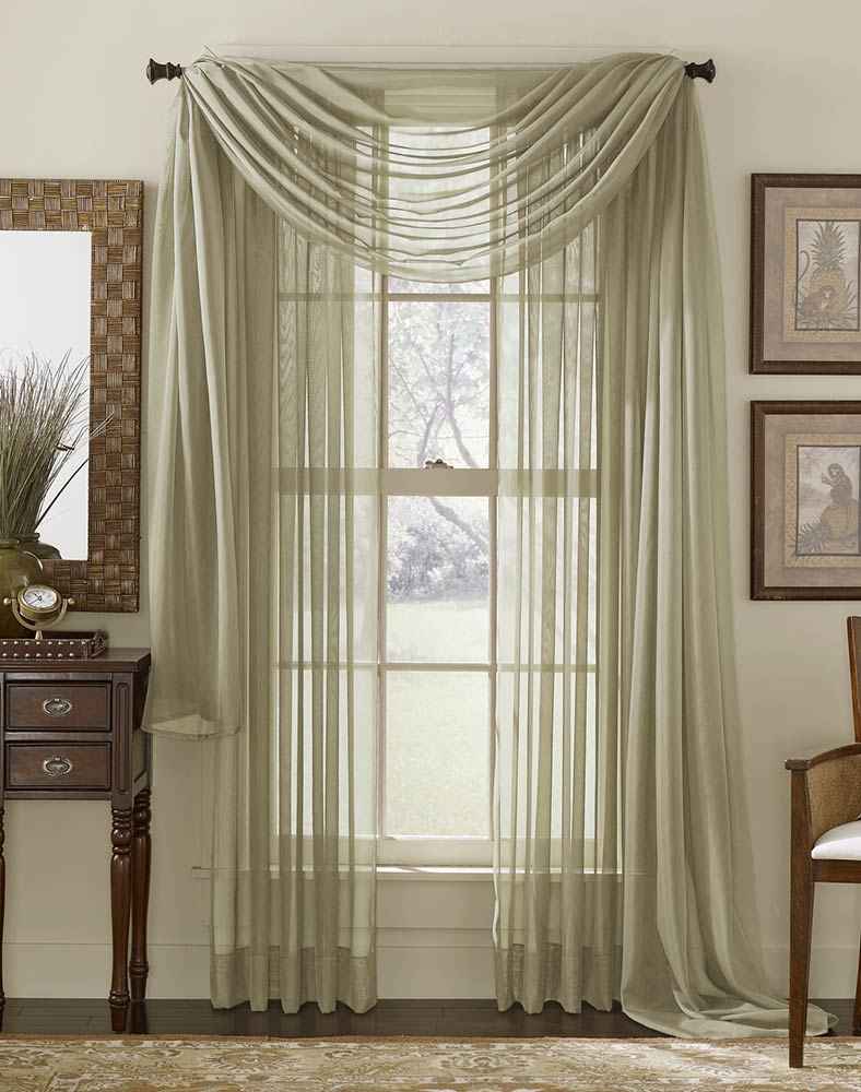 Curtains Hanging Sheers Behind Curtains Inspiration How To Hang Pertaining To Hanging Curtains (View 4 of 25)