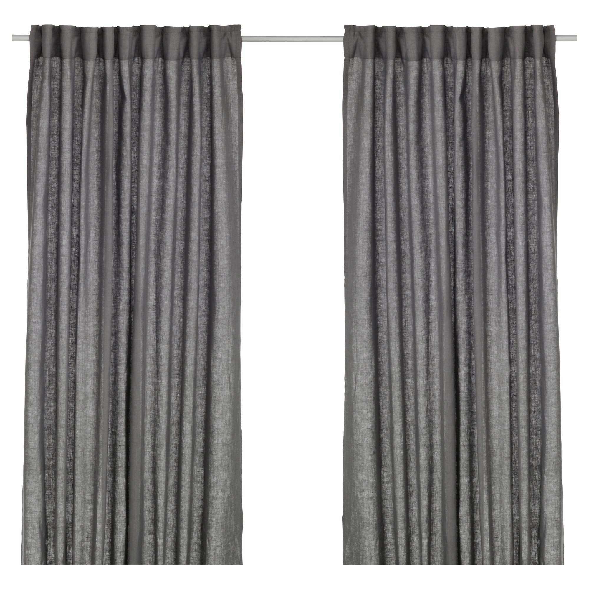 Curtains Living Room Bedroom Curtains Ikea For Dark Grey Sheer Curtains (Image 13 of 25)