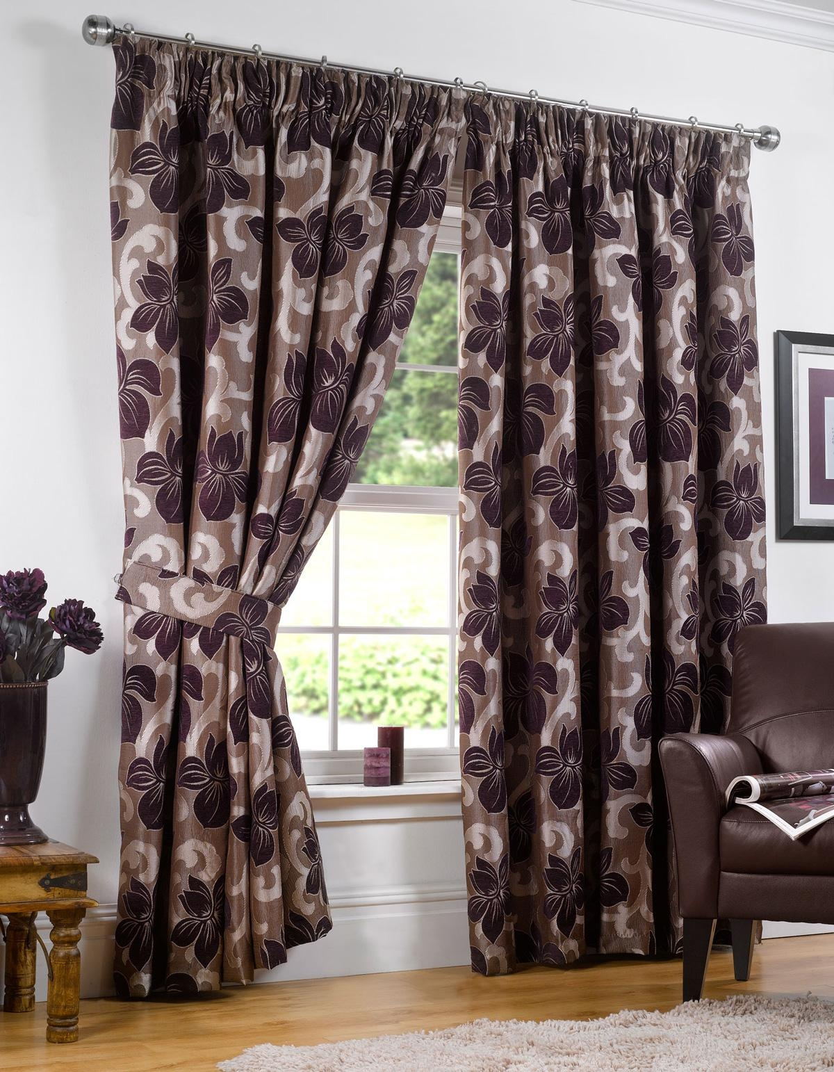 Curtains Purple Curtains Uk Unique Black And Purple Curtains Uk Pertaining To Purple And Gold Curtains (Image 11 of 25)