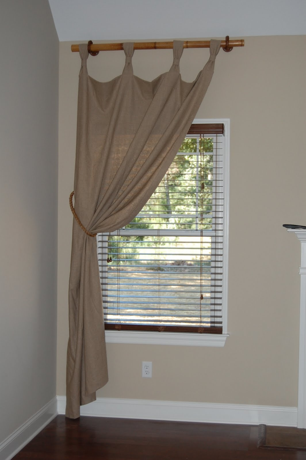 Curtains Small Window Curtain Rods Ideas Short Drapery Rods With Bamboo Curtain Rods (Image 13 of 25)
