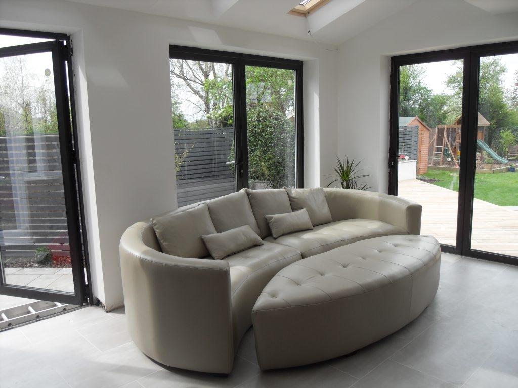 Curved Corner Sofas Modern Sofas Inside Bespoke Corner Sofas (Image 11 of 15)