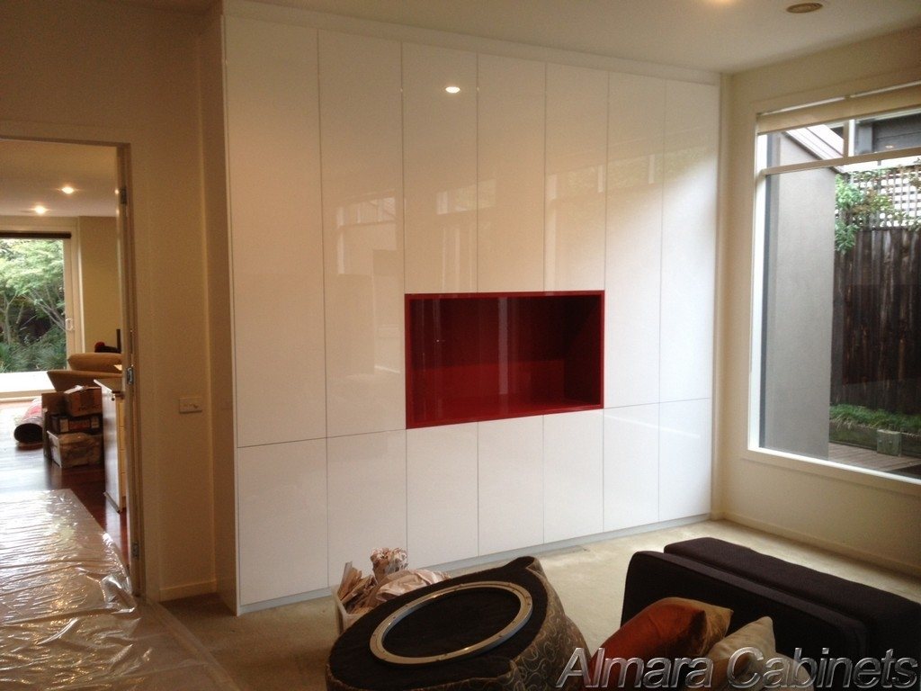 Custom Furniture In Built Wardrobes Study Office Wall Units In Living Room Fitted Cabinets (View 9 of 15)