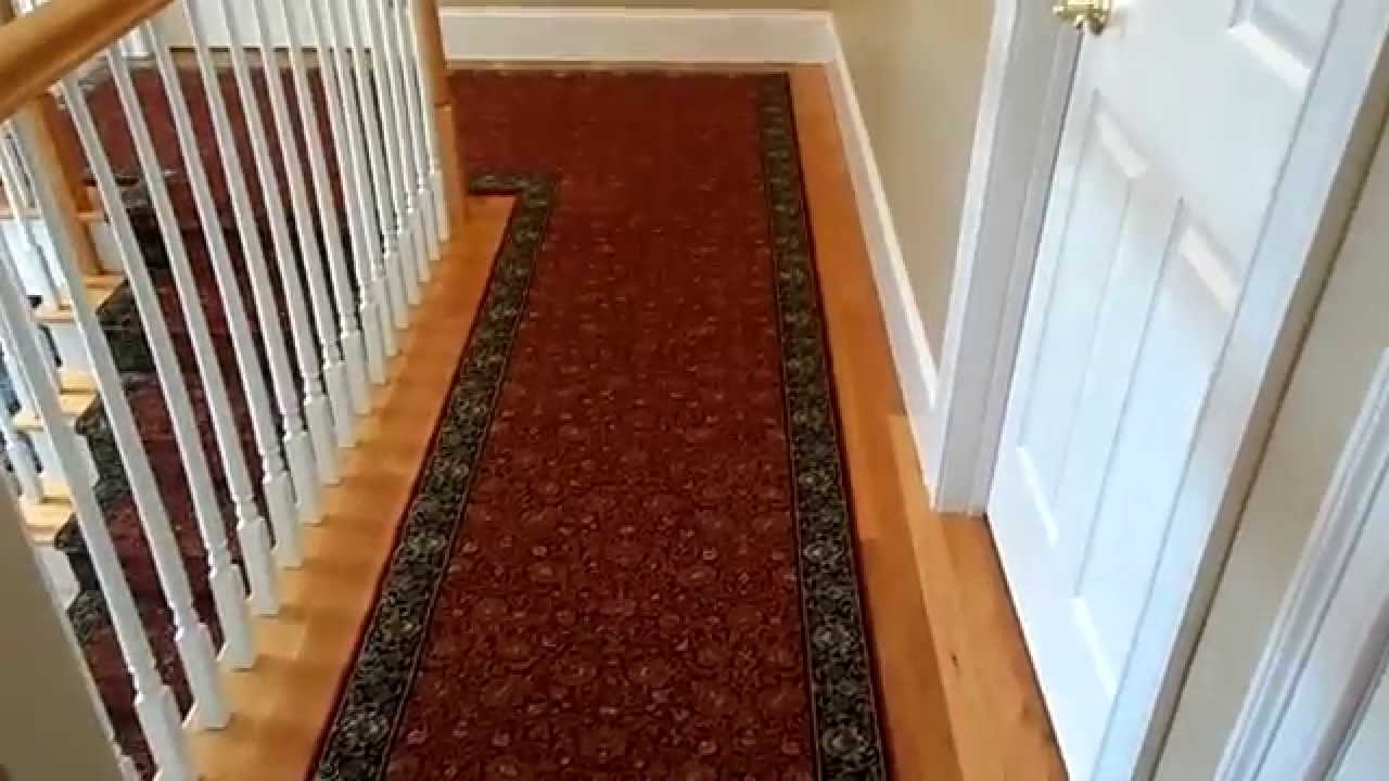 Custom Hall And Stair Runner Custom Made Foyer Rug Youtube With Regard To Custom Made Rug Runners (Image 4 of 15)