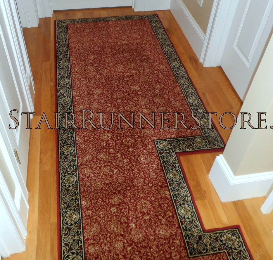 Custom Hallway Runner Installations Stair Runner Store Blog In Hall Runner (Image 6 of 15)