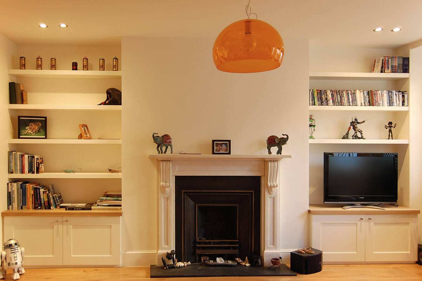 Custom Made Living Rooms Display Tv And Media Units Within Living Room Fitted Cabinets (View 7 of 15)