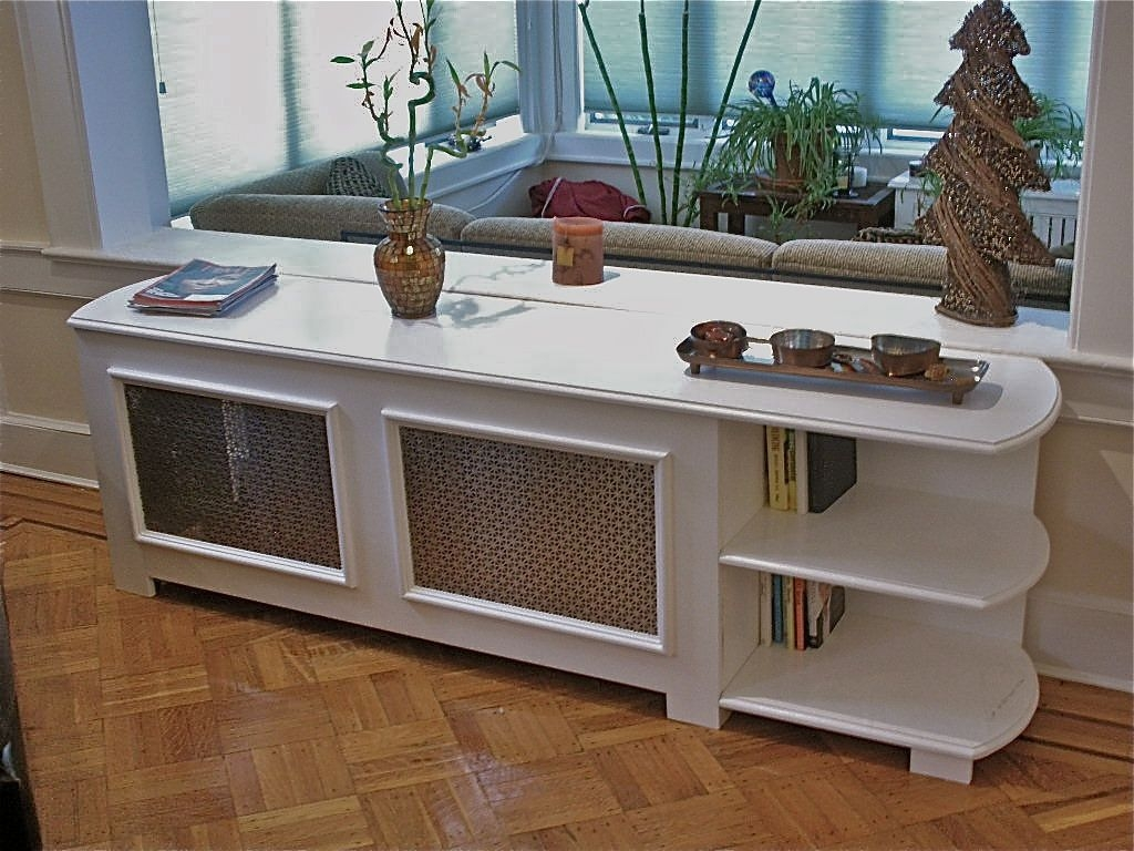 Custom Radiator Cover With Bookcase Hammer Time Studios For Radiator Cabinet Bookcase (View 6 of 15)