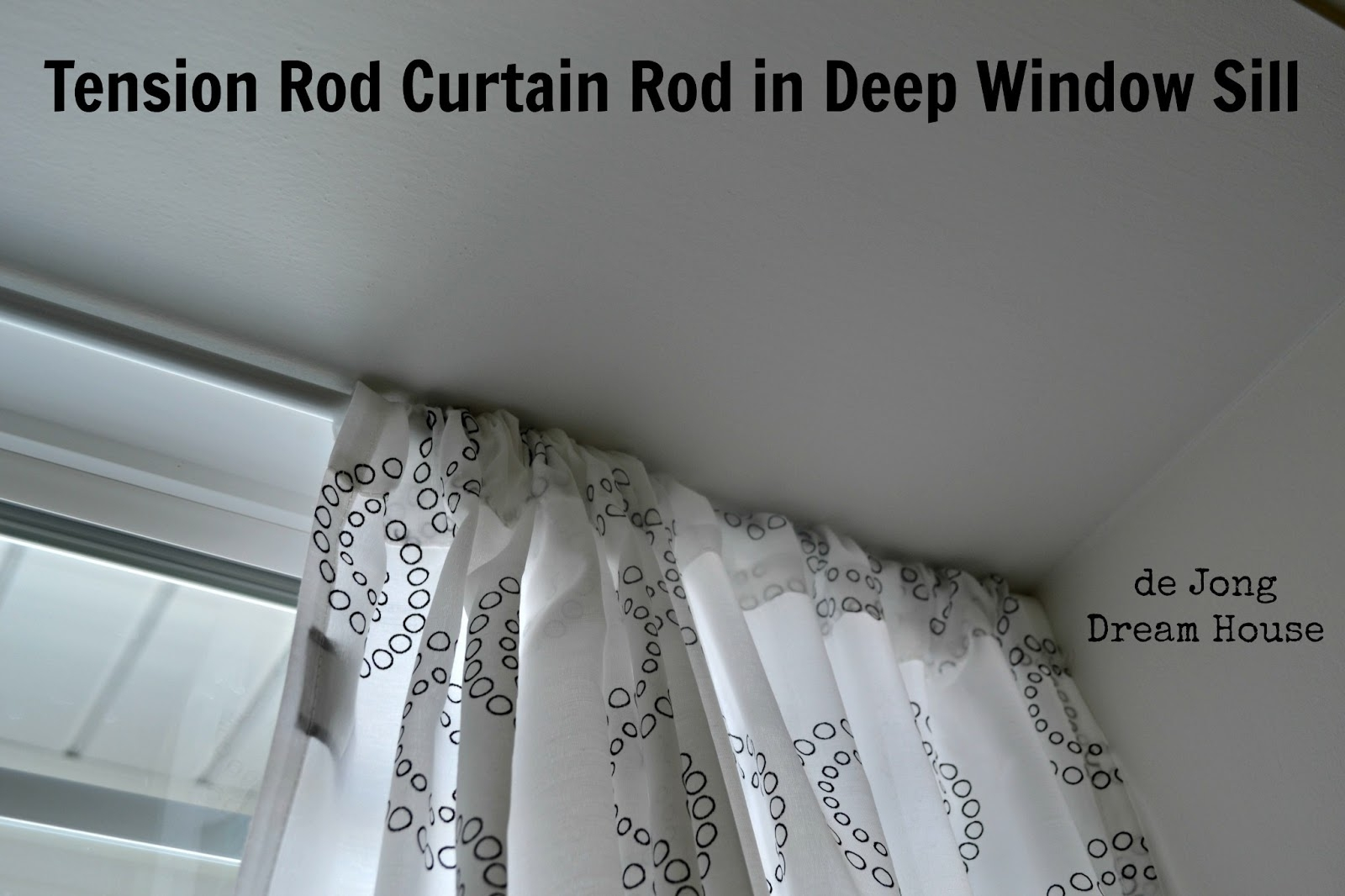 De Jong Dream House Uses For Tension Rods Within Spring Loaded Curtain Poles (View 4 of 25)
