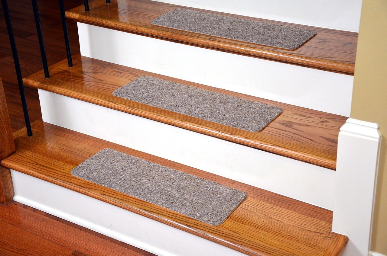 Dean Affordable American Made High Quality Non Skid Diy Peel In Peel And Stick Carpet Stair Treads (Image 6 of 15)