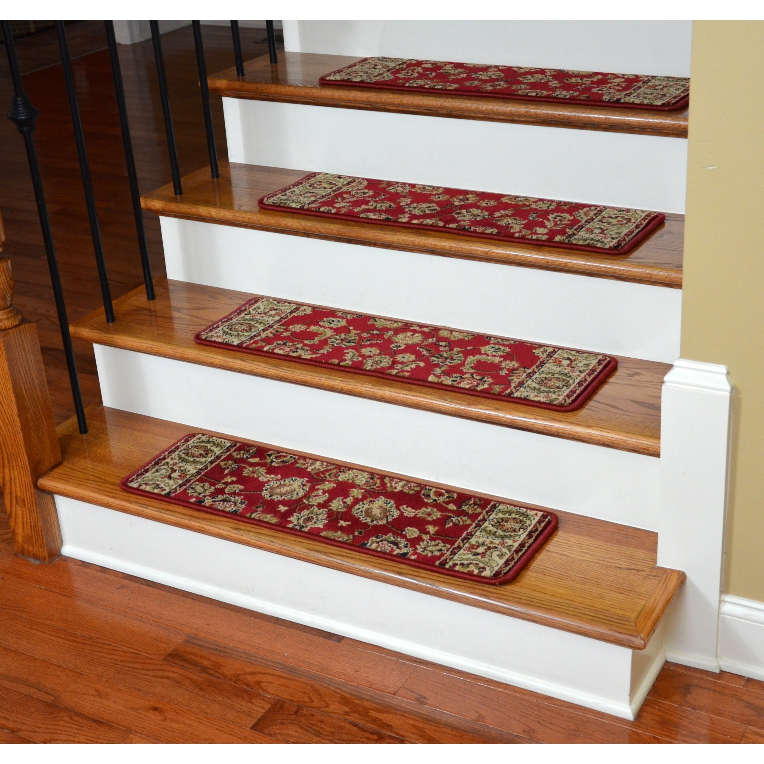 Dean Flooring Company Dean Premium Carpet Stair Treads Elegant Regarding Premium Carpet Stair Treads (Image 6 of 15)