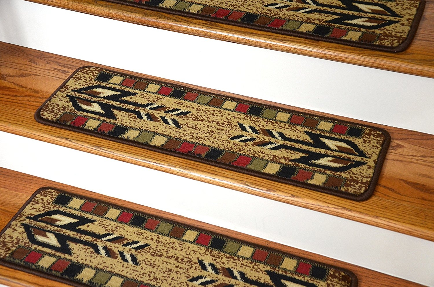 Dean Premium Carpet Stair Treads Santa Fe Beige 31 X 9 Set Of In Premium Carpet Stair Treads (Image 7 of 15)
