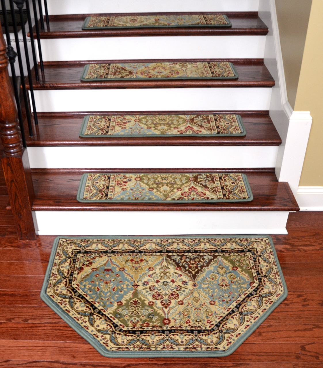 Dean Tape Free Pet Friendly Non Skid Stair Gripper Ultra Premium Within Non Skid Stair Treads Carpet (Image 4 of 15)