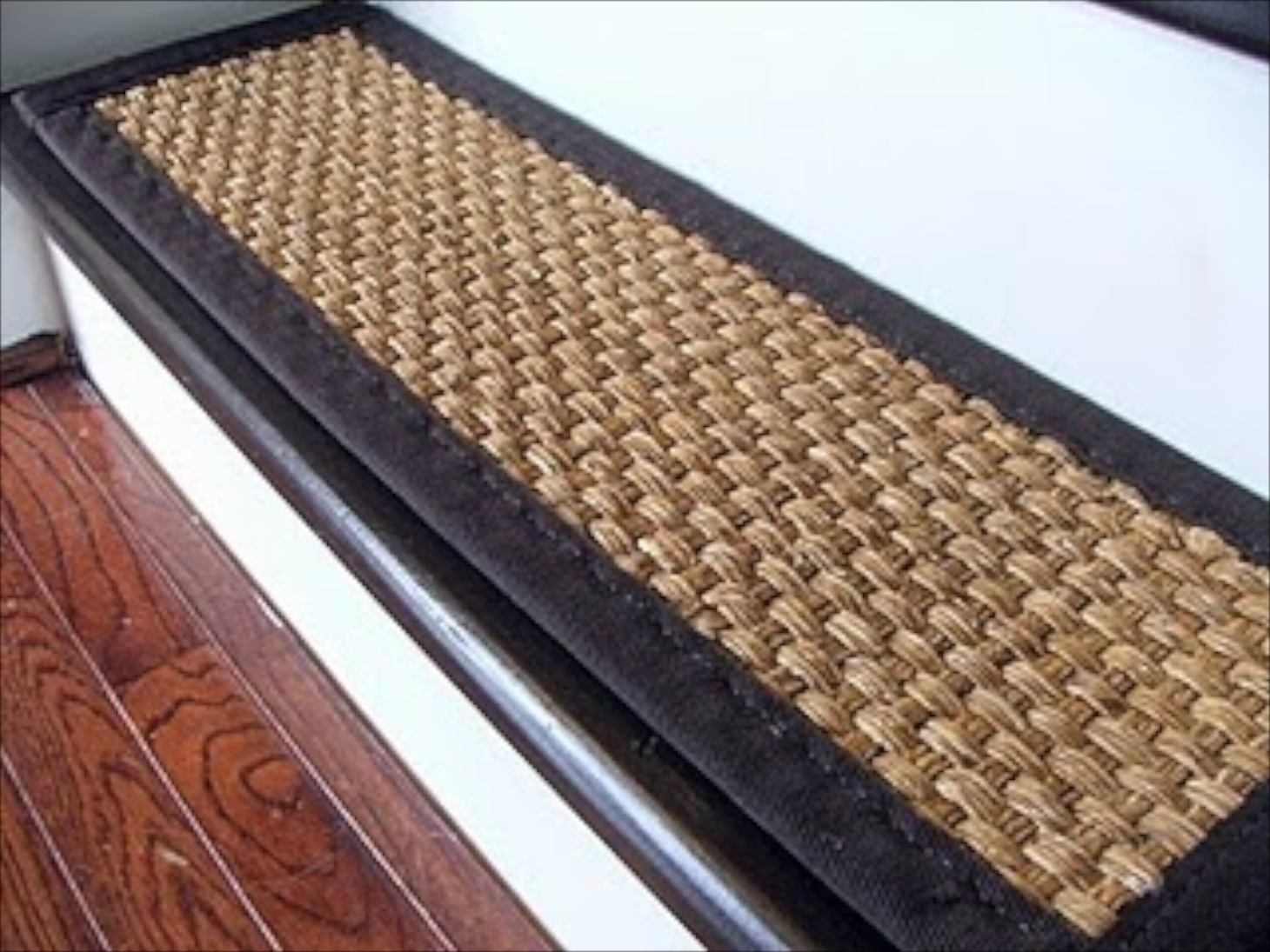 Decor Beautiful Stair Tread Covers Make An Elegant Addition To Throughout Rectangular Stair Treads (Image 5 of 15)