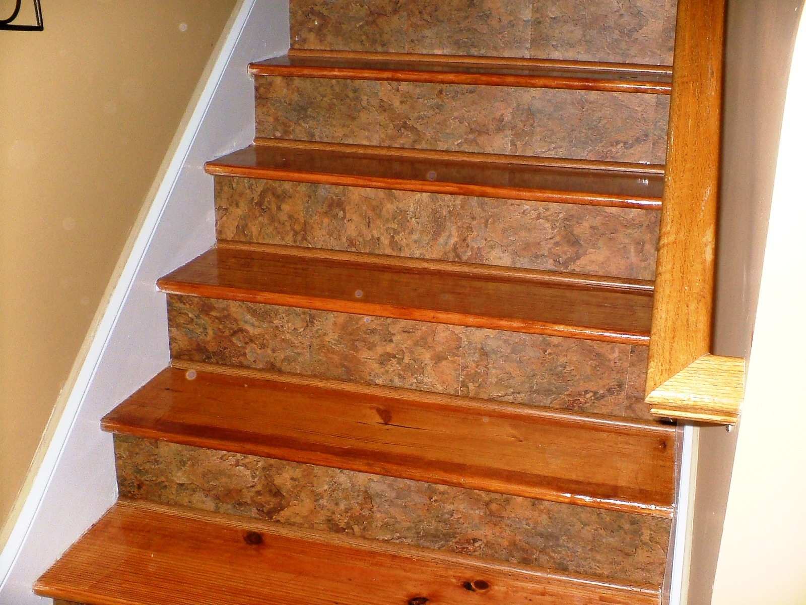 Decor Carpet Treads For Wooden Stairs Stair Treads Carpet With Regard To Stair Protectors Wooden Stairs (Image 3 of 15)