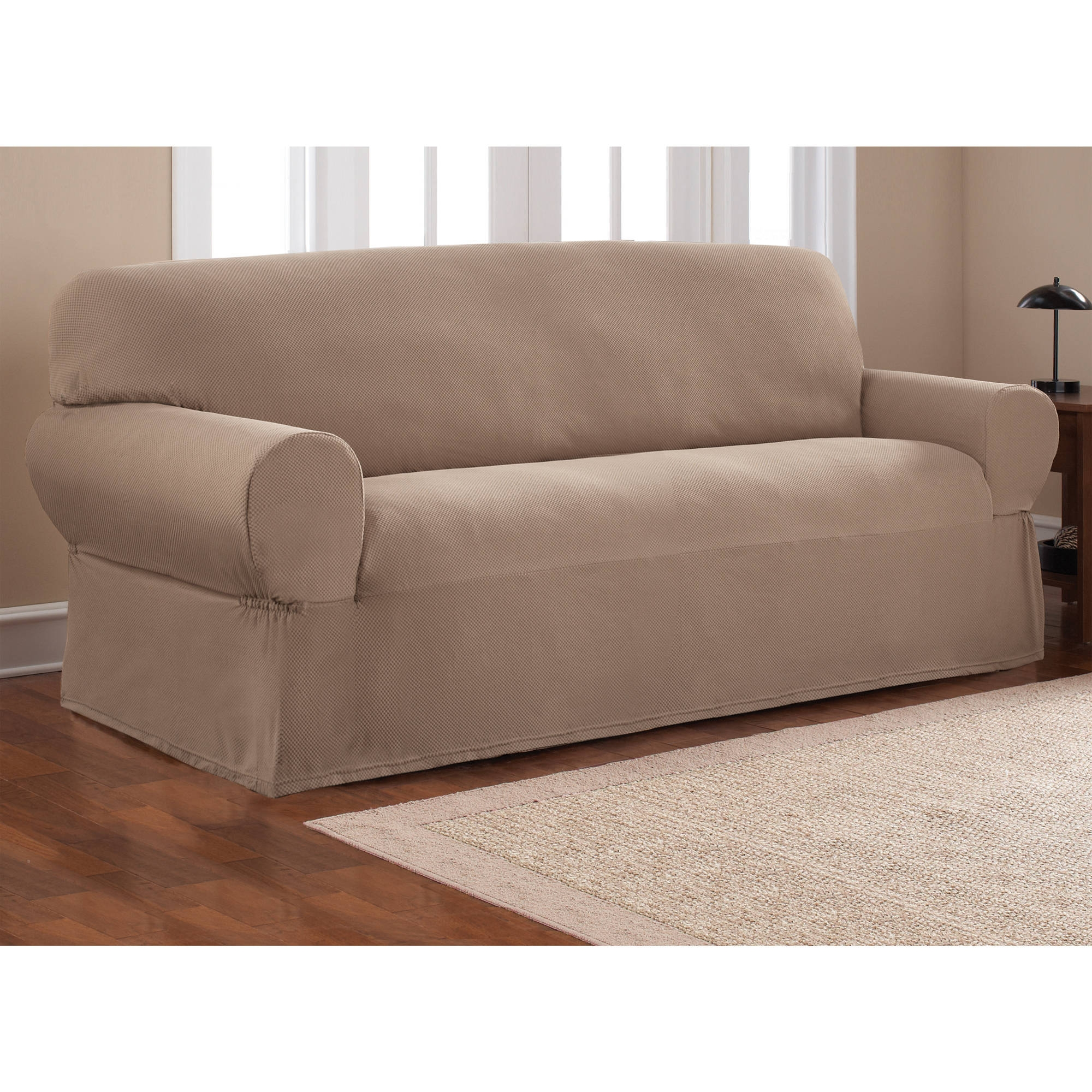 Decor Fascinating Sofa Covers Walmart For Alluring Furniture In Covers For Sofas (Image 6 of 15)