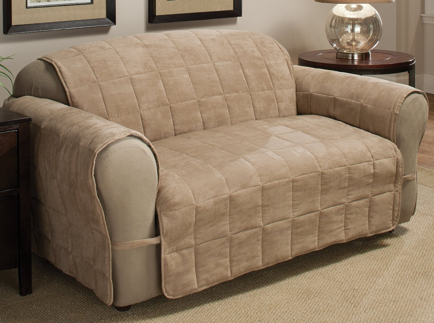 Decor Futon Slipcover Futon Covers Walmart Slip Covers For Chairs Pertaining To Covers For Sofas And Chairs (View 6 of 15)