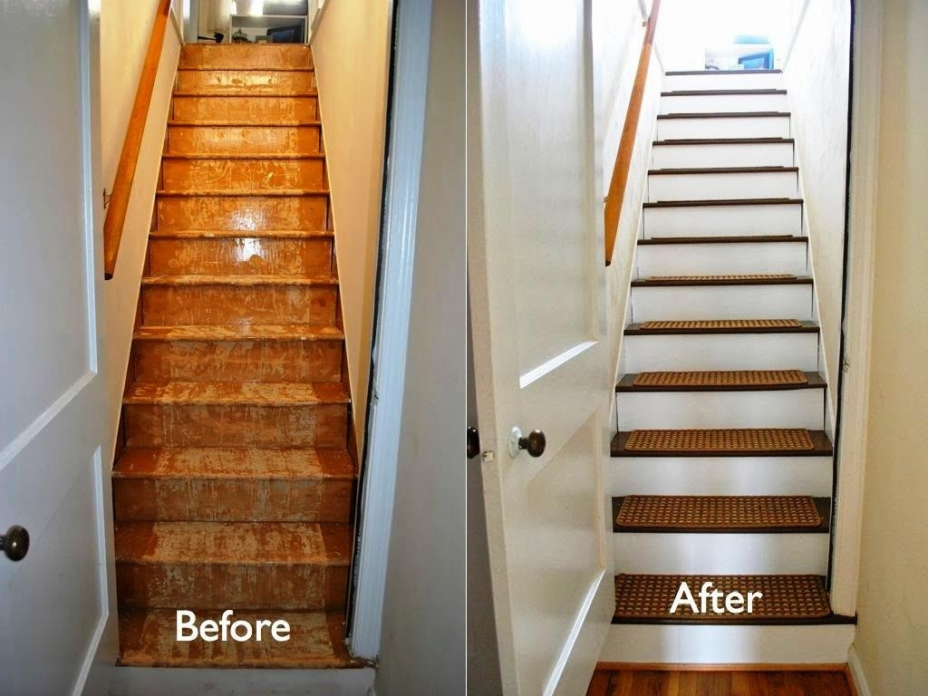 Decor Gorgeous Stair Treads Carpet Galleries With Best Top World Inside Carpet Treads For Wooden Stairs (View 7 of 15)
