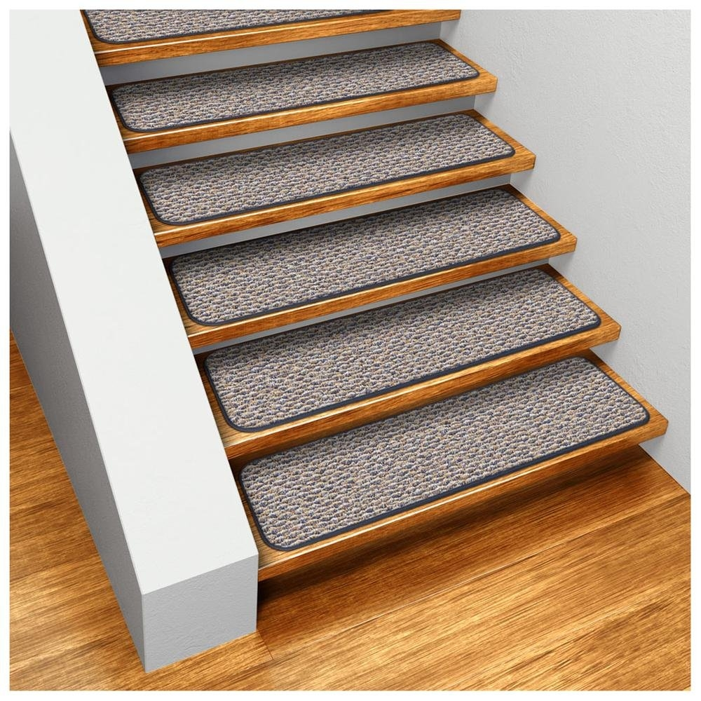Decor Indoor Stair Tread Mats Stair Treads Carpet With Regard To Decorative Indoor Stair Treads (Image 7 of 15)