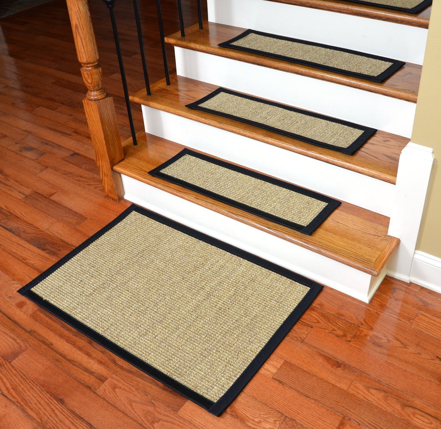 Decor Non Slip Stair Treads With Brick Wall Also Concrete Inside Non Skid Stair Tread Rugs (Image 4 of 15)