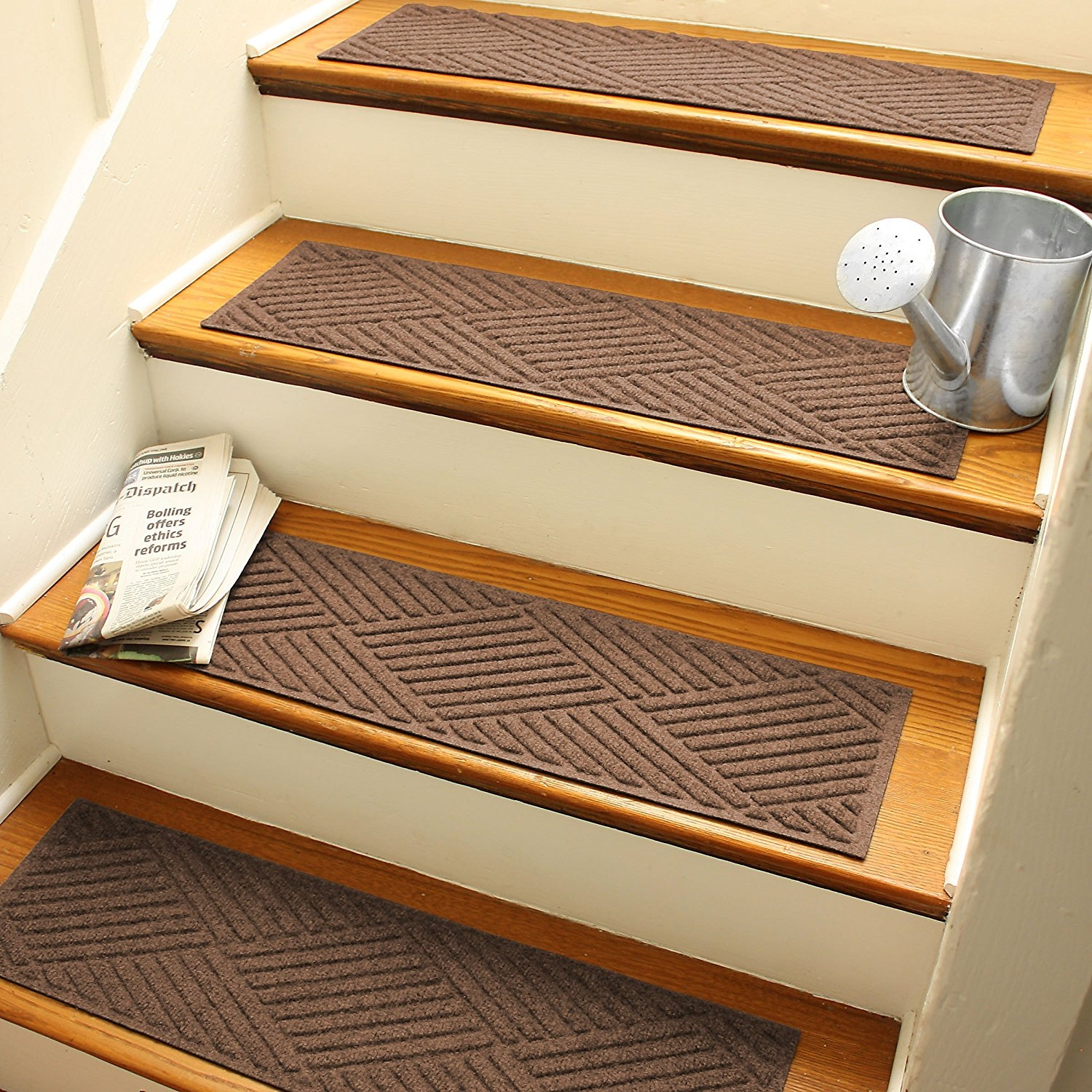 Decor Outdoor Non Slip Stair Treads And Stair Tread Covers Also In Stair Tread Carpet Covers (Image 5 of 15)
