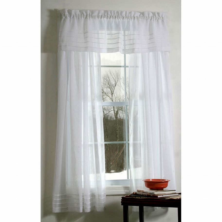Decor Semi Sheer Curtains Textured Sheer Curtain Panels Semi Inside Sheer White Curtain Panels (Image 8 of 25)
