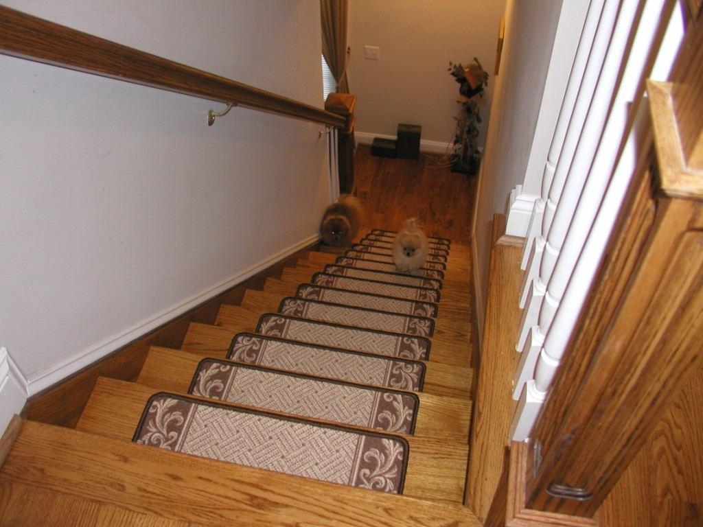 Decor Stair Tread Runners Stair Treads Carpet Regarding Stair Tread Carpet Runners (View 8 of 15)