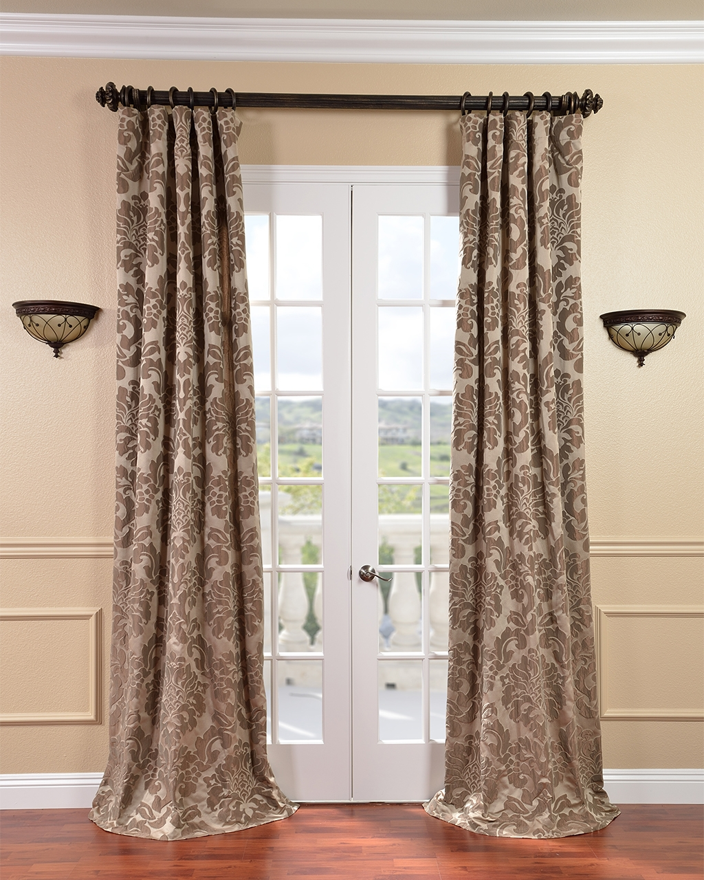 Decorating Elegant Interior Home Decorating Ideas With 108 Regarding 96 Inches Long Curtains (Image 21 of 25)