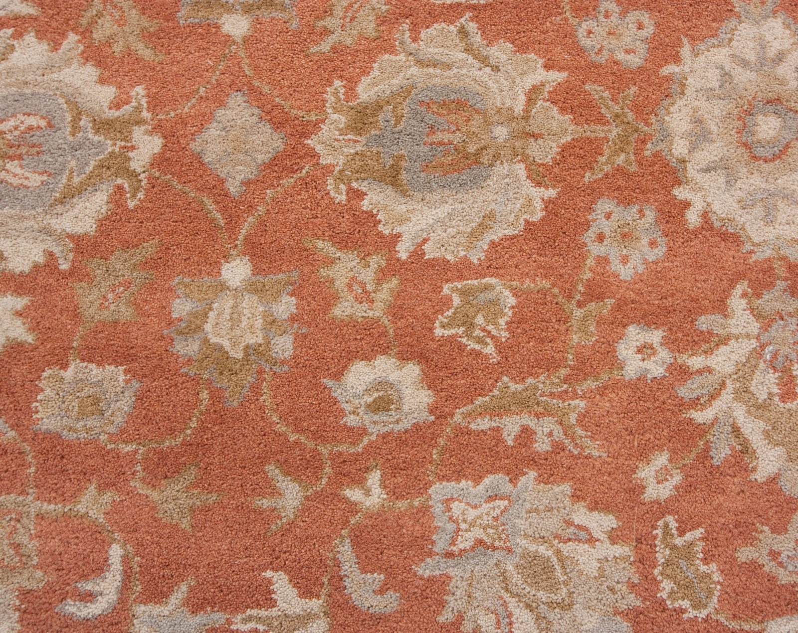 Decorating Gorgeous Area Rugs Lowes For Floor Accessories Ideas With Regard To Orange Floor Rugs (View 15 of 15)