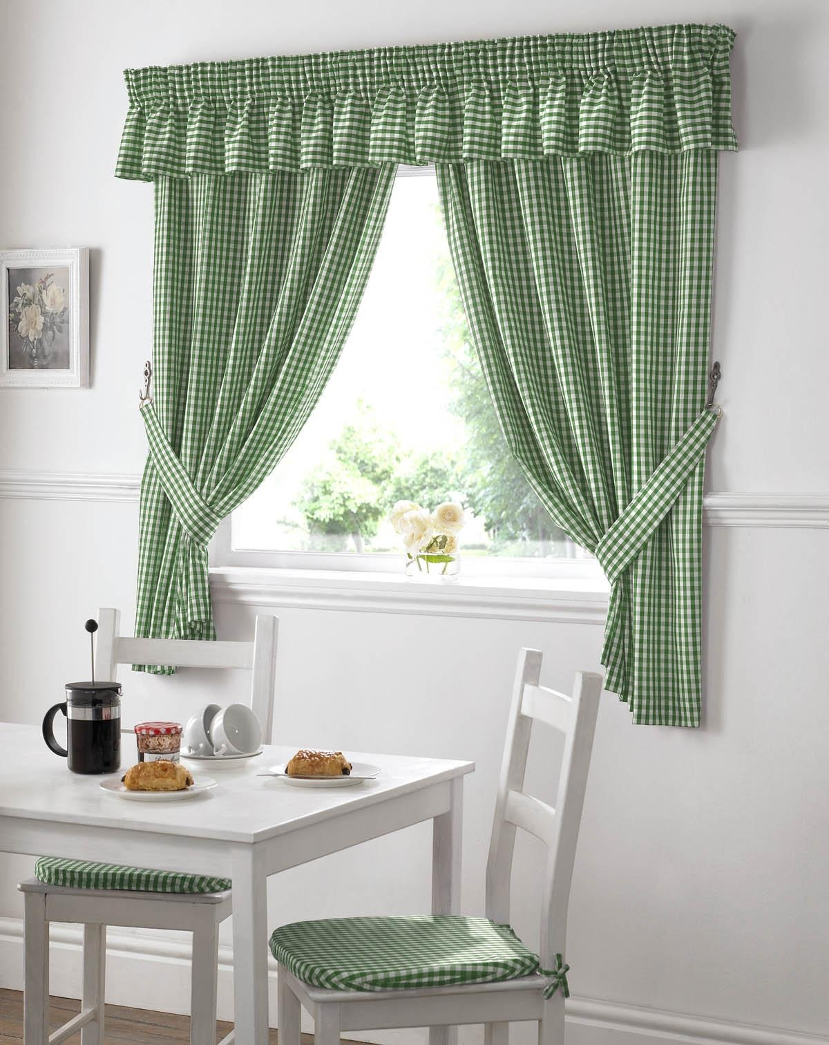 Decoration Kitchen Curtains Finally Mycuprunnethoverblog Green Pertaining To Sage Green Kitchen Curtains (Image 9 of 25)
