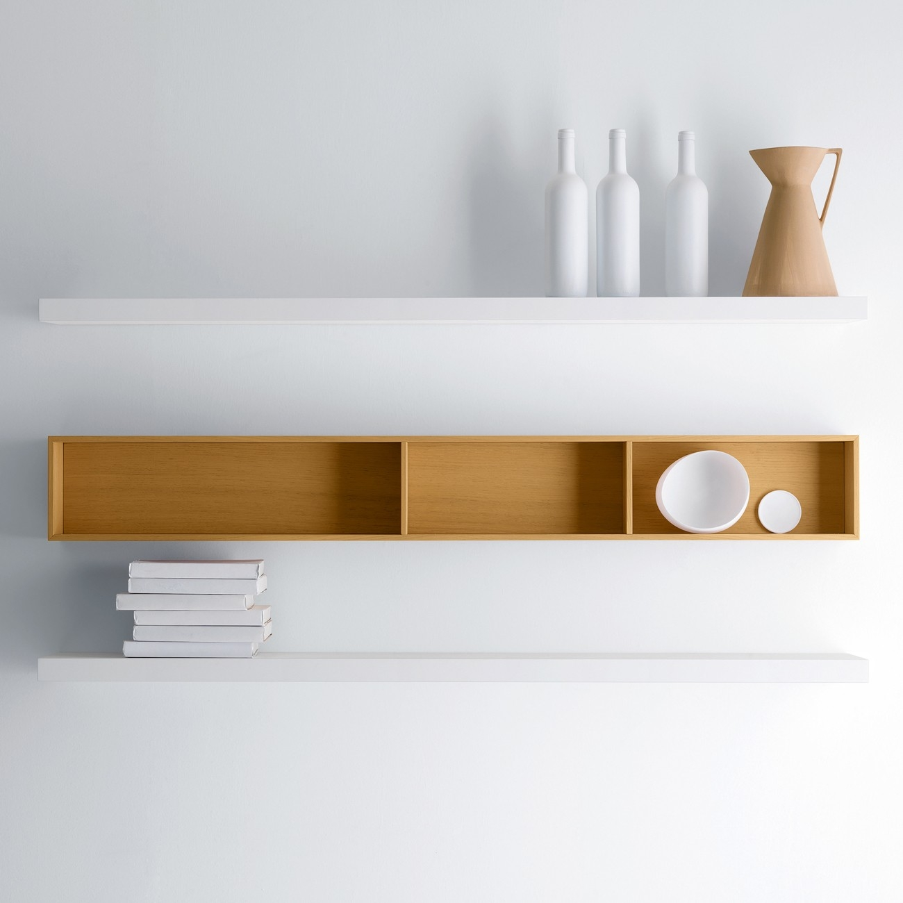 Design Chic Wall Shelves Designs Images Brown Wooden Wall Shelf In Wall Shelf (View 12 of 15)