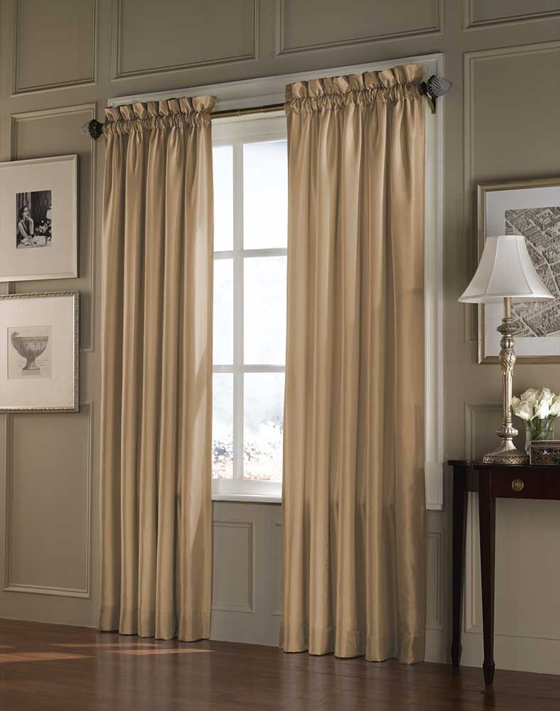 Designer Curtain Rods Decor Windows Curtains Inside Curtains Windows (View 8 of 25)