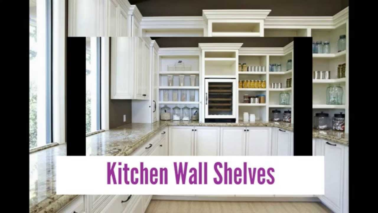 Designer Kitchen Wall Shelves Youtube For Kitchen Wall Shelves (Image 9 of 15)