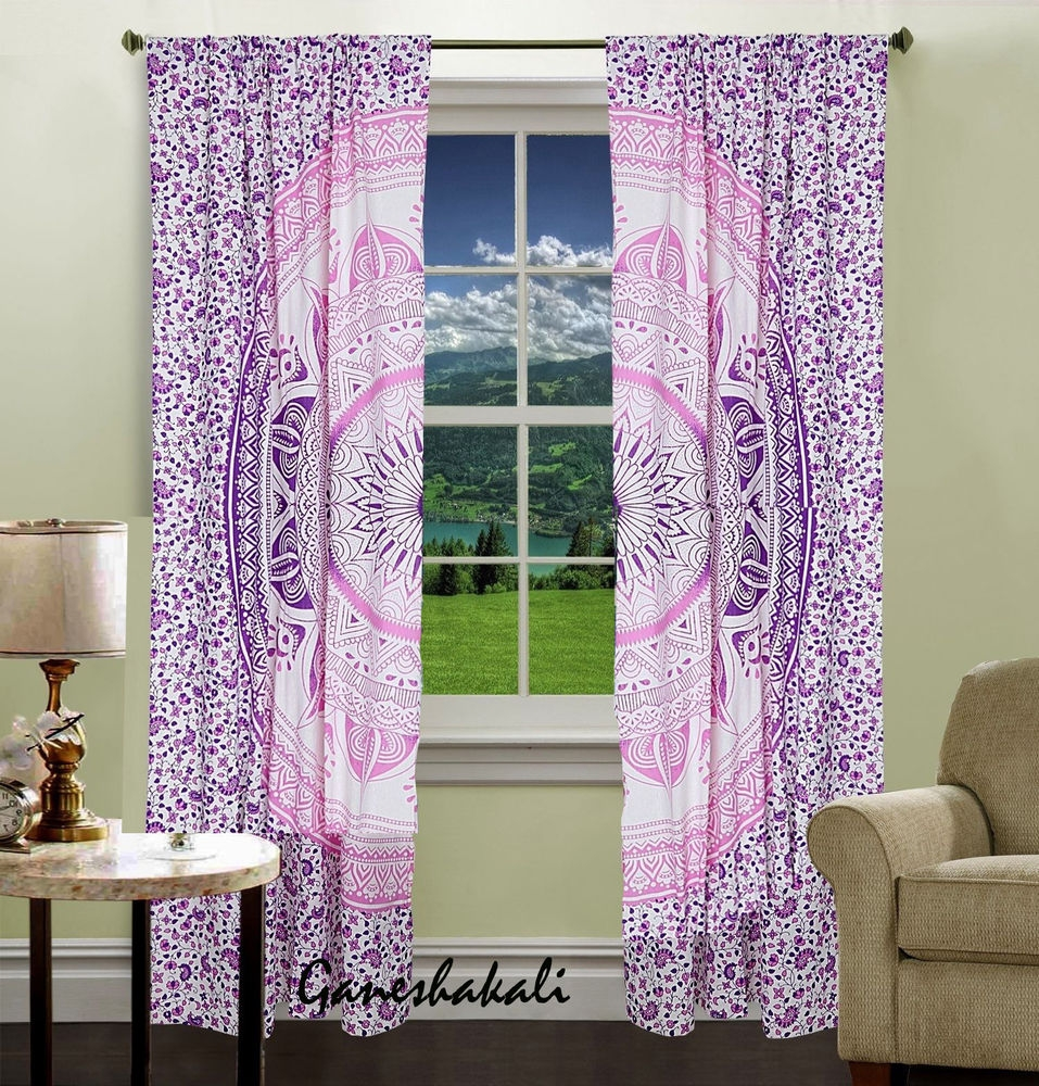 s p inch japanese panel curtains flowers picture window drapes asian swirls set of