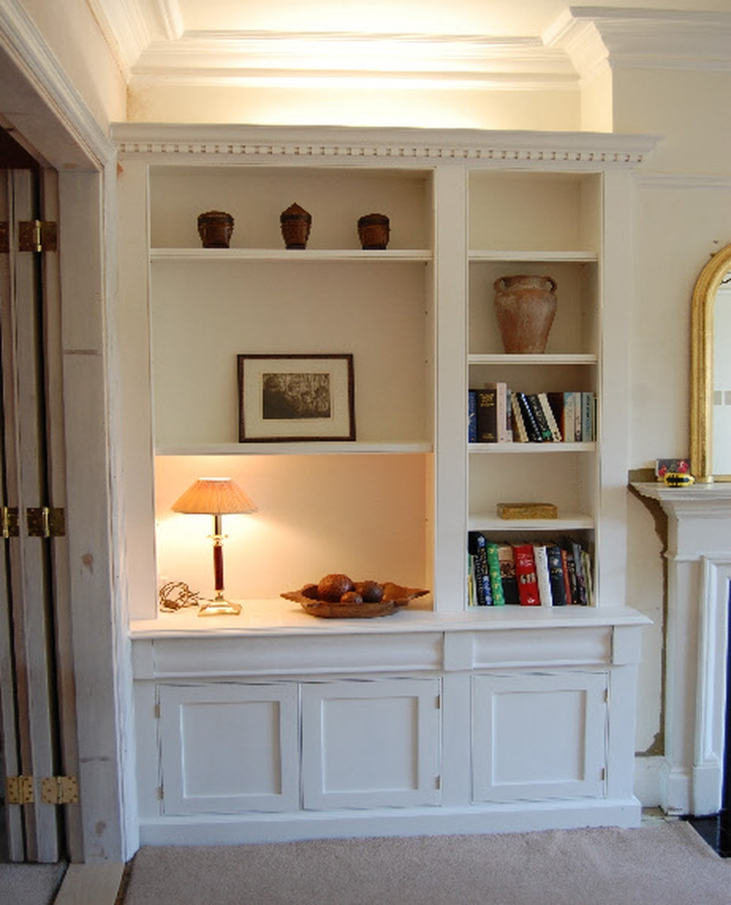 Dining Room Fitted Shelving And Cupboards Carpentry Joinery With Regard To Fitted Shelves And Cupboards (Image 7 of 15)