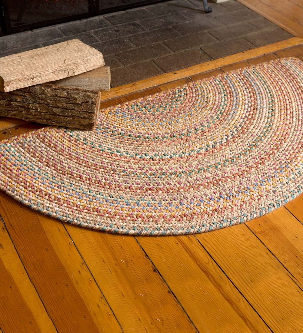 Discount Braided Rugs Roselawnlutheran Intended For Stair Treads Braided Rugs (Image 7 of 15)