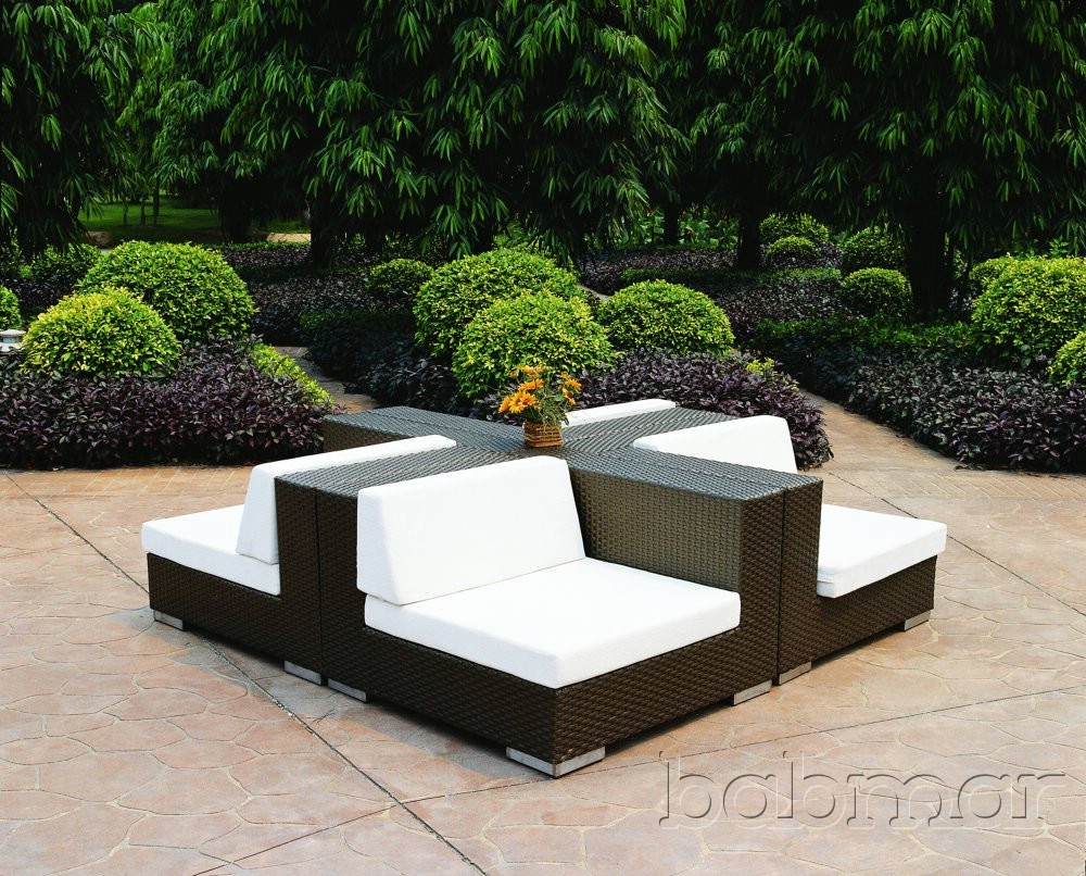 Discount Modern Outdoor Furniture Regarding Outdoor Sofa Chairs (Image 6 of 15)