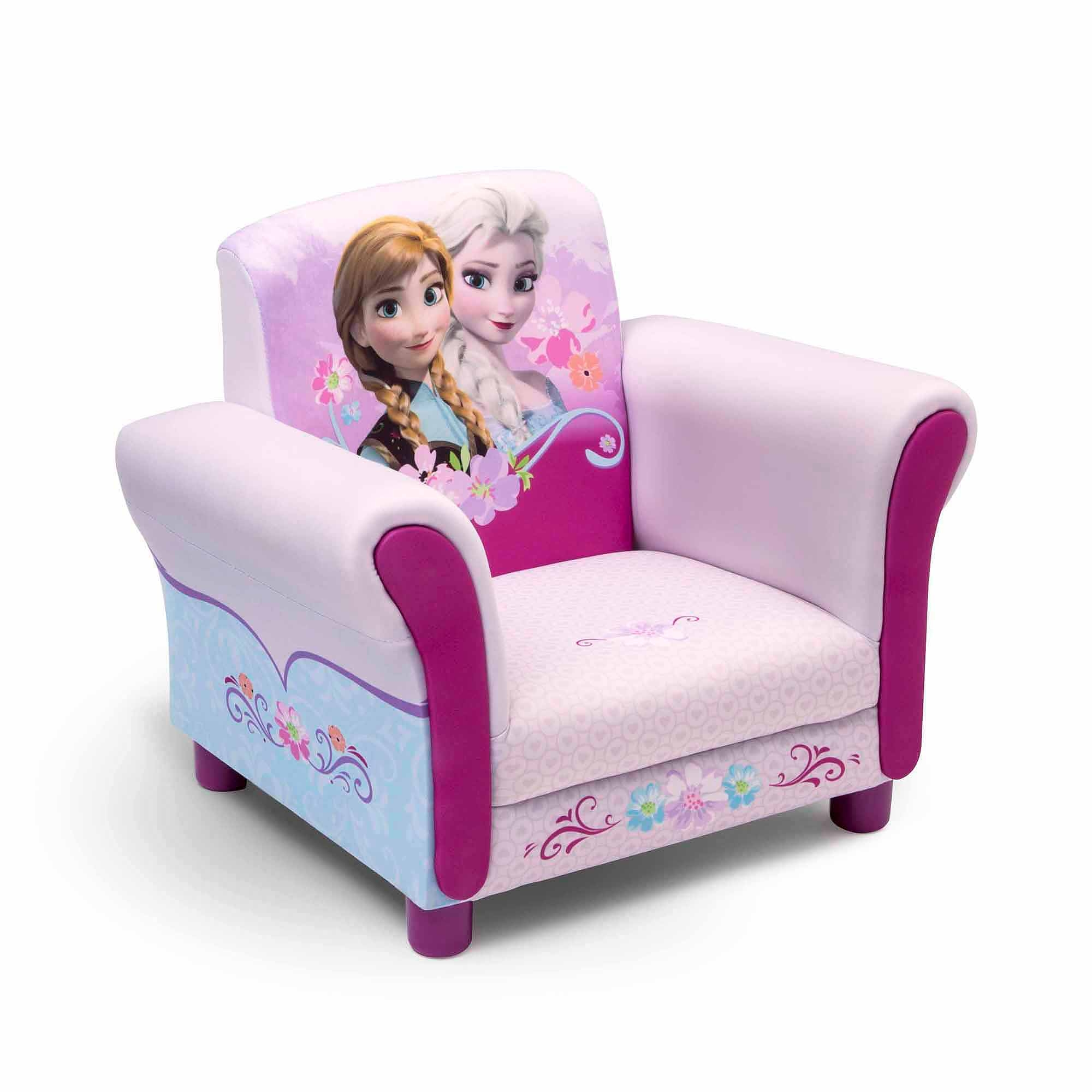 Disney Frozen Upholstered Chair Walmart Inside Disney Sofa Chairs (View 2 of 15)