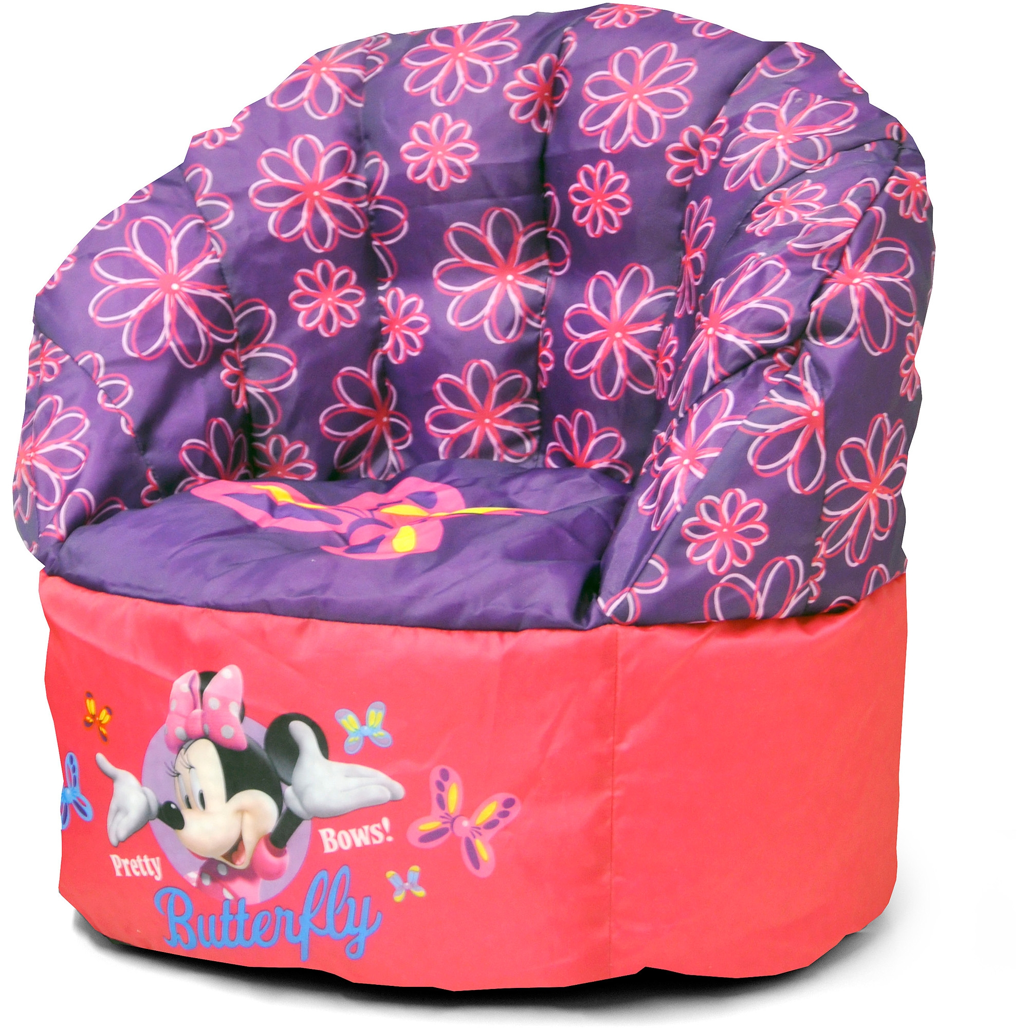 Disney Minnie Mouse Sofa Chair Walmart In Disney Sofa Chairs (Image 5 of 15)
