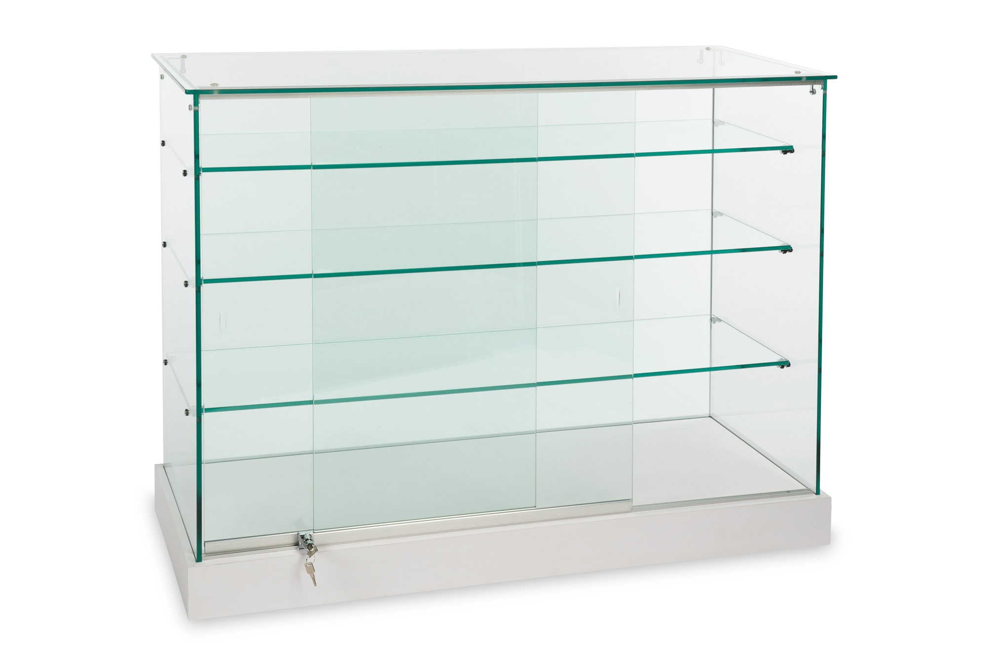 Display Cases Showcases Free 3d Planning Showcasesource Inside Wall Mounted Glass Display Shelves (View 11 of 15)