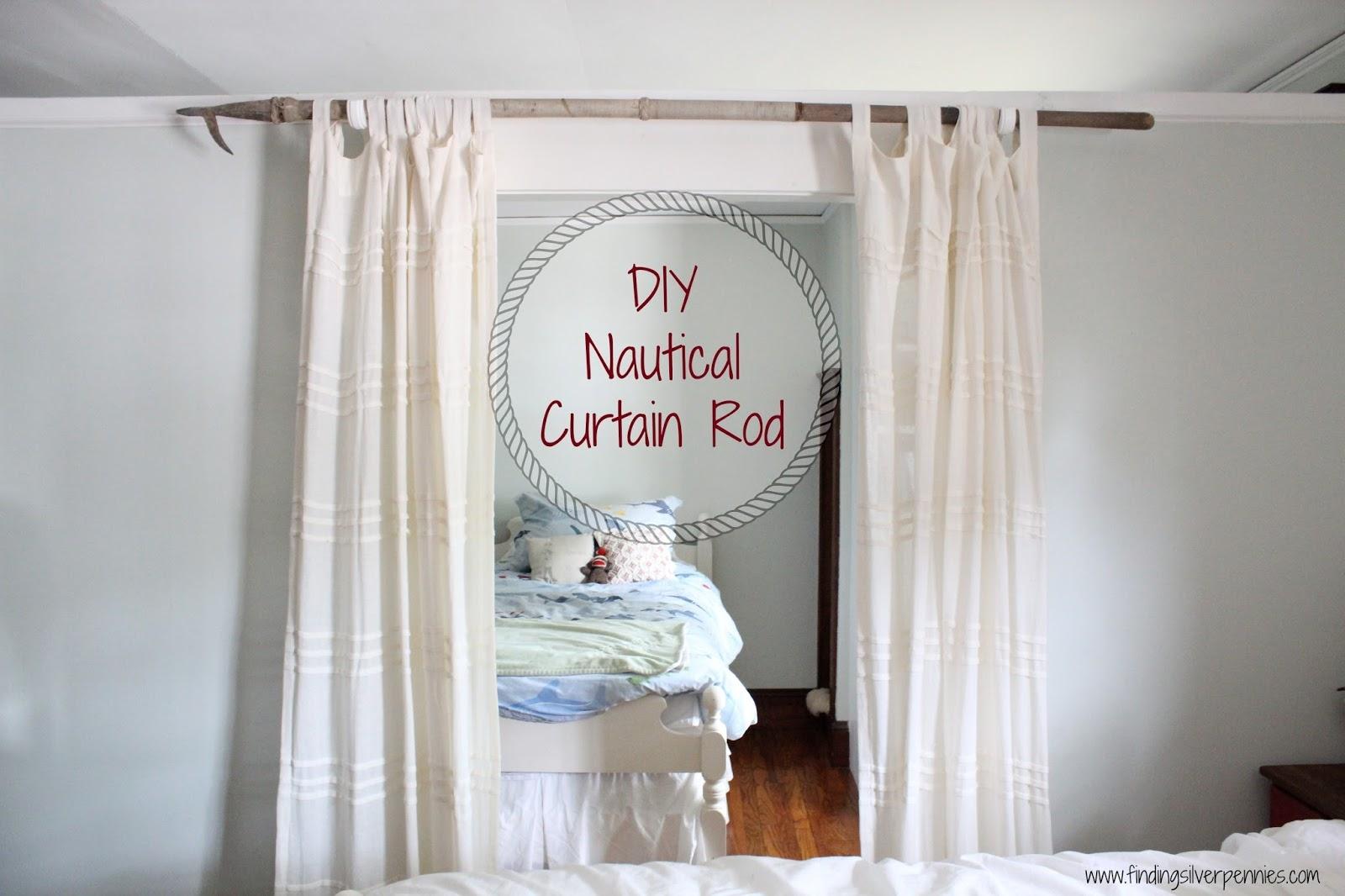 25 Nautical Curtain Rods Curtain Ideas